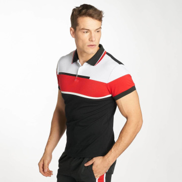 Zayne Paris Poloshirt Stripe black