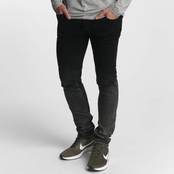 Zayne Paris Slim Fit Jeans Classic čern