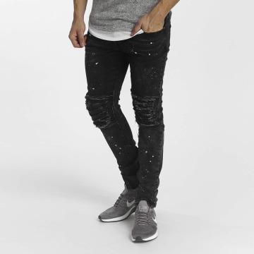 Zayne Paris Straight Fit Jeans Nizza čern