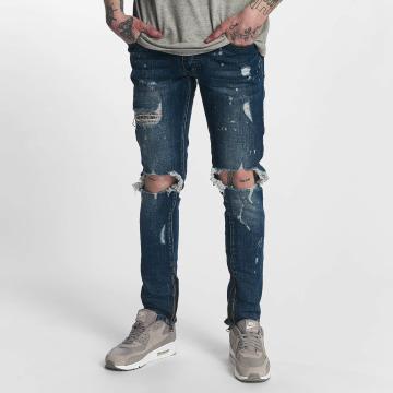Zayne Paris Straight Fit Jeans Nantes modrý