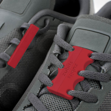 Zubits Dodatki do butów Magnetic czerwony