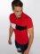 Aarhon Koszulki Polo Block czerwony