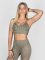 Beyond Limits Sports Bra Triangle khaki