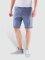 Iriedaily Shorts Golfer Chambray Chino blau