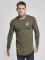 Sik Silk Longsleeves Gym khaki
