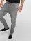 Urban Classics Slim Fit Jeans Knee Cut серый