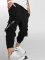 VSCT Clubwear Jogginghose Cargo Logo Tape schwarz