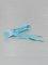 Tubelaces Lacet Flat Laces turquoise