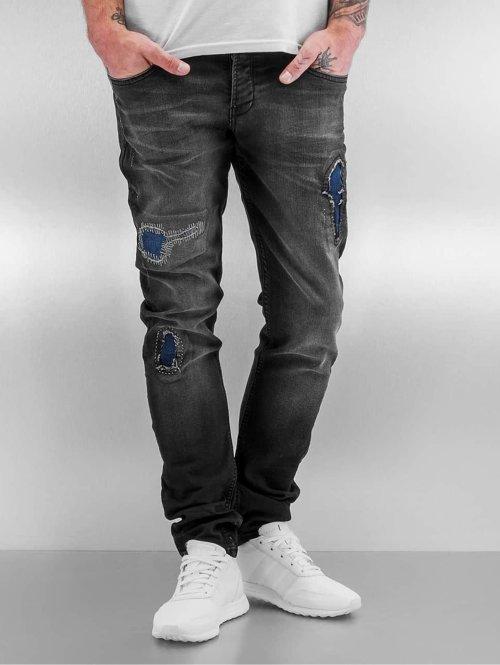 2Y Slim Fit Jeans Stan schwarz