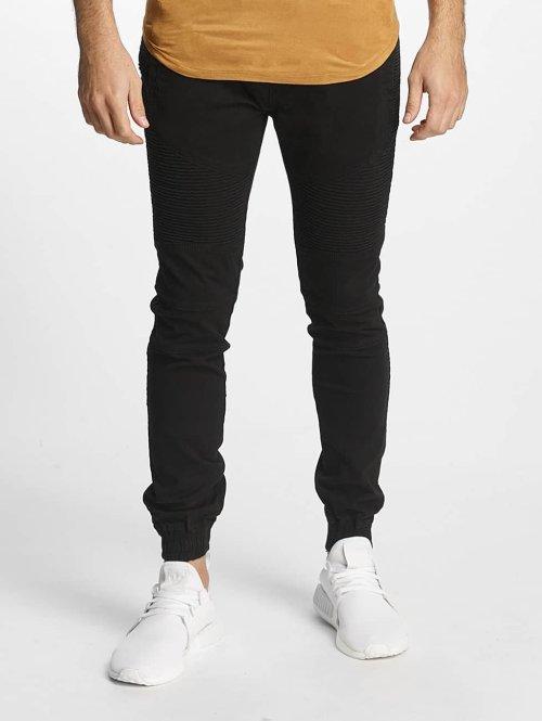 Aarhon Slim Fit Jeans Lazio zwart