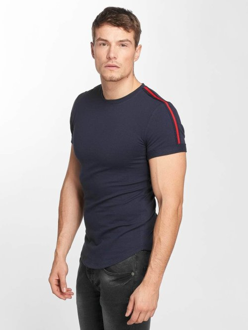 Aarhon t-shirt Jannis blauw