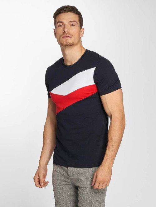 Aarhon t-shirt Stripes blauw
