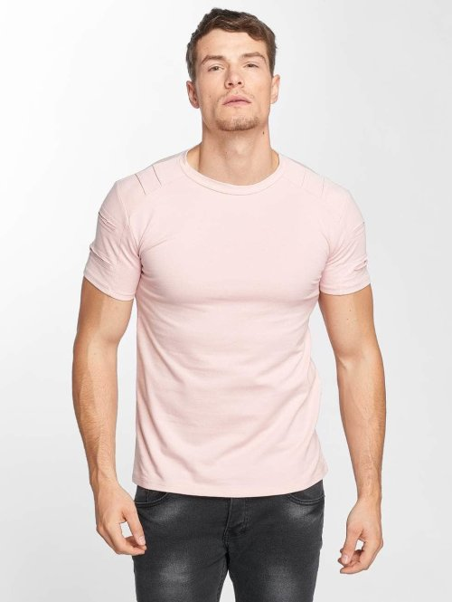 Aarhon t-shirt Destroyed pink