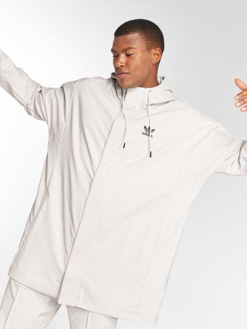 adidas originals Демисезонная куртка Hooded Coach бежевый