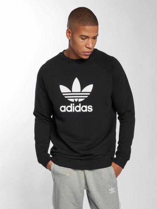 adidas originals Пуловер Trefoil черный