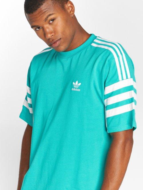 adidas originals Camiseta Auth S/s Tee turquesa