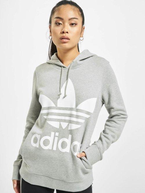 adidas originals Hoodies Trefoil grå