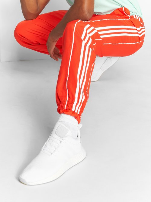 adidas originals Joggingbyxor Auth Wind röd