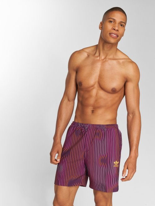 adidas originals Kúpacie šortky Swim fialová
