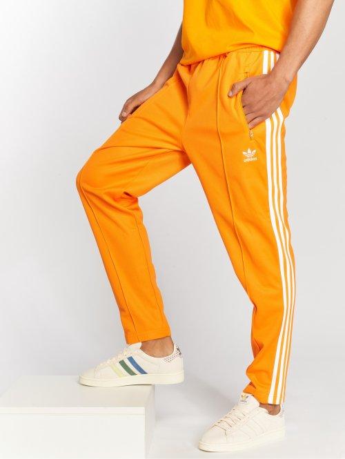 adidas originals Pantalone ginnico Beckenbauer Tp arancio