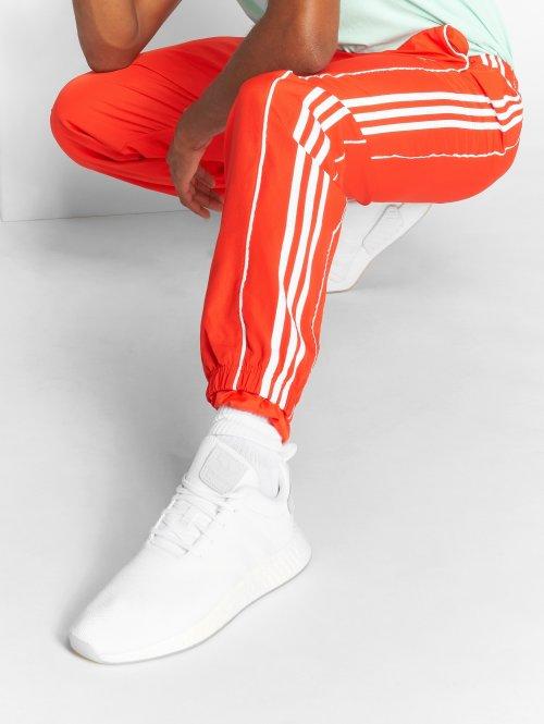 adidas originals Pantalone ginnico Auth Wind rosso