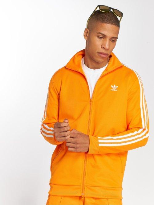 adidas originals Prechodné vetrovky Beckenbauer Tt oranžová