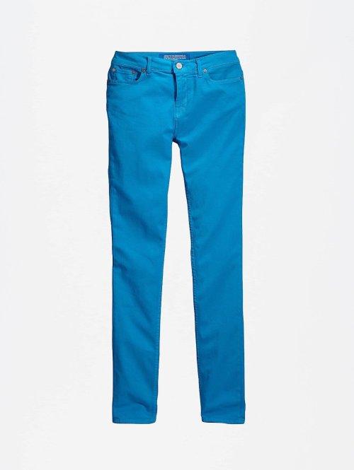adidas Originals Skinny Jeans Basic blau