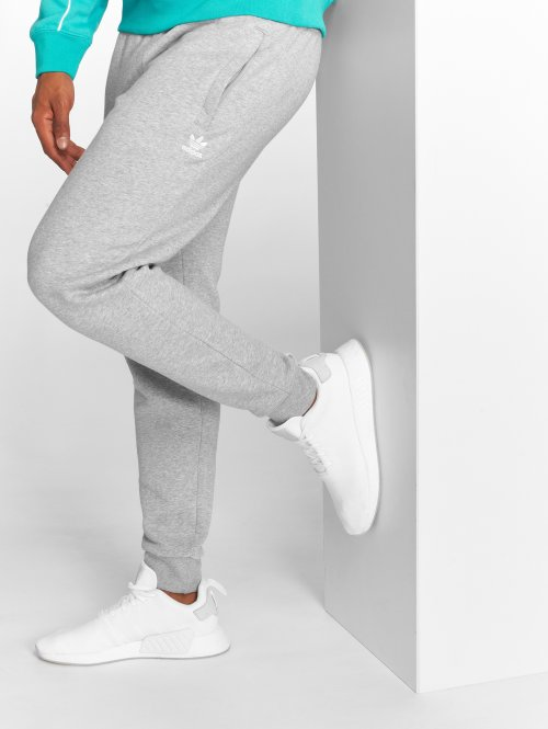 adidas originals Spodnie do joggingu Slim Flc Pant szary
