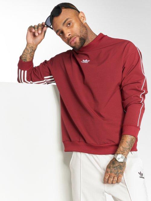 adidas originals Sweat & Pull Originals Auth Stripe Cre rouge