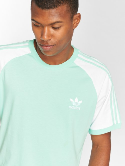 adidas originals t-shirt 3-Stripes Tee groen