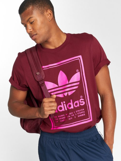 adidas originals T-shirt Vintage rosso