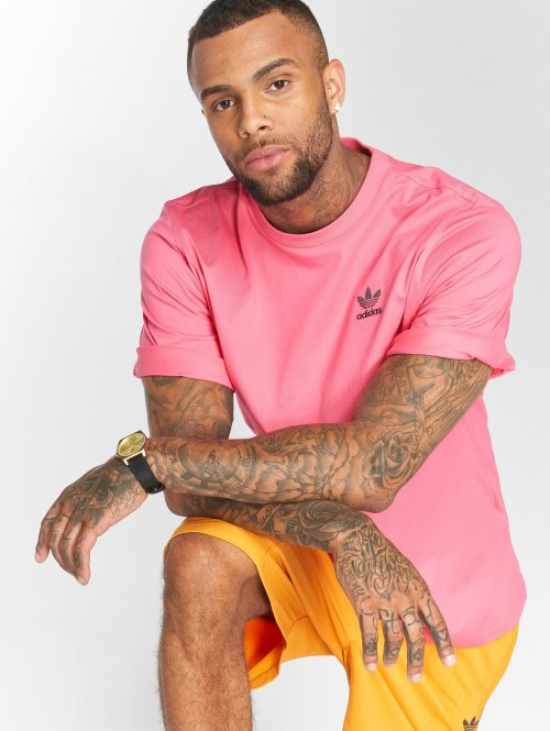 adidas originals T-Shirty Backprint pink