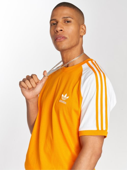 adidas originals T-skjorter 3-Stripes Tee oransje