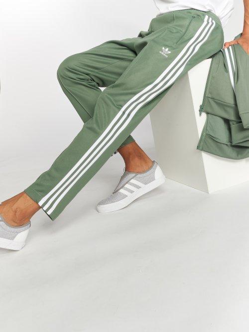 adidas originals tepláky Beckenbauer Tp zelená