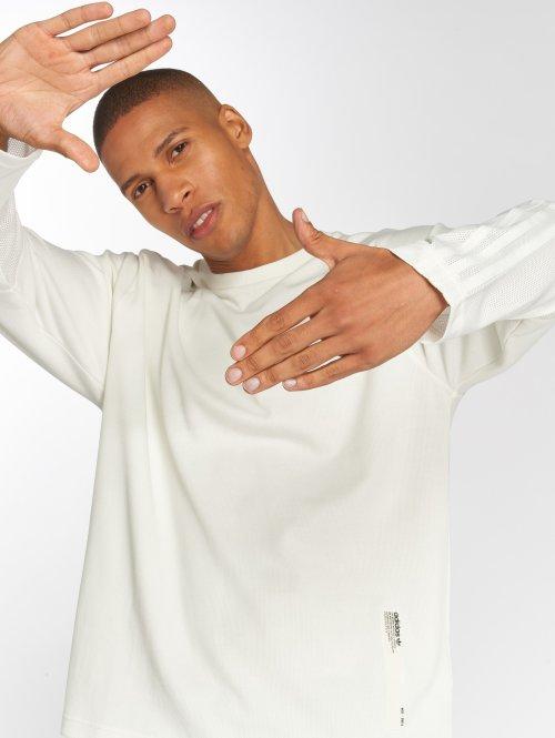 adidas originals Tričká dlhý rukáv Nmd biela