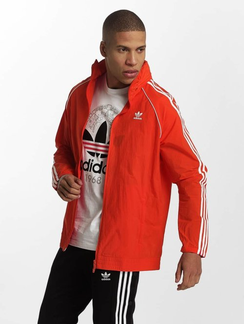 adidas originals Zomerjas Superstar Windbreaker rood