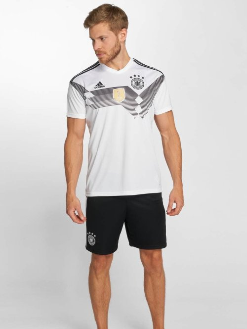 adidas Performance Fußballshorts DFB Home schwarz
