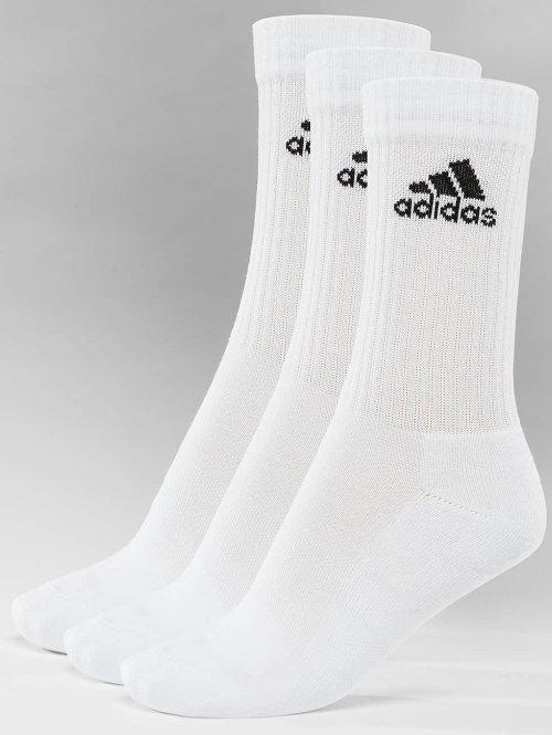 adidas Performance Sokken Performance 3-Stripes Performance Crew wit