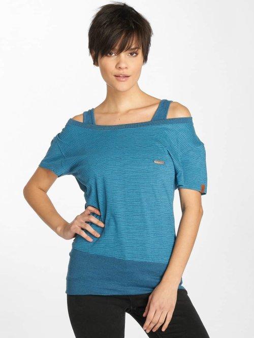 Alife & Kickin T-Shirt Luna blau