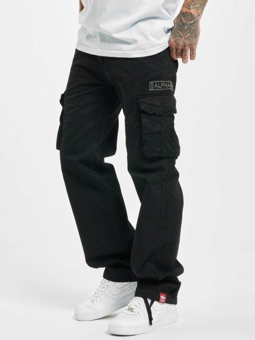 Alpha Industries Cargo pants Jet black