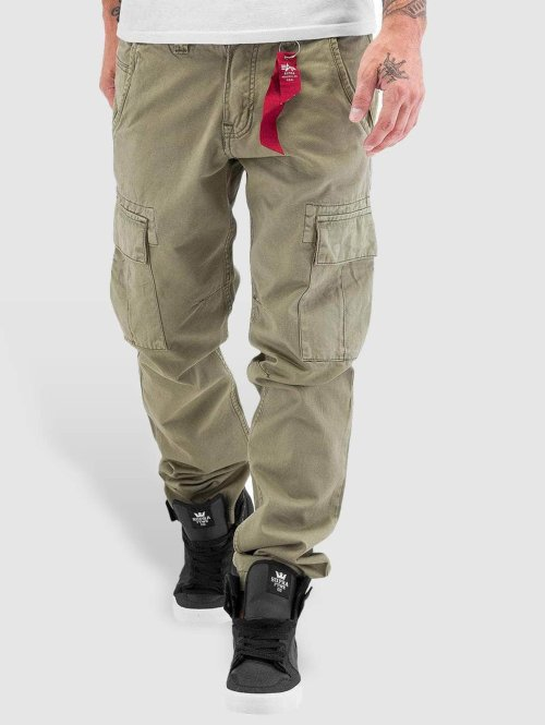 Alpha Industries Cargo pants Agent oliv