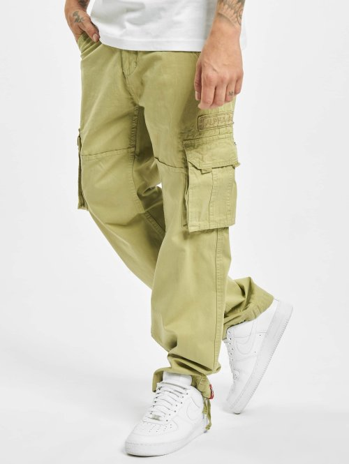 Alpha Industries Cargo pants Jet oliv