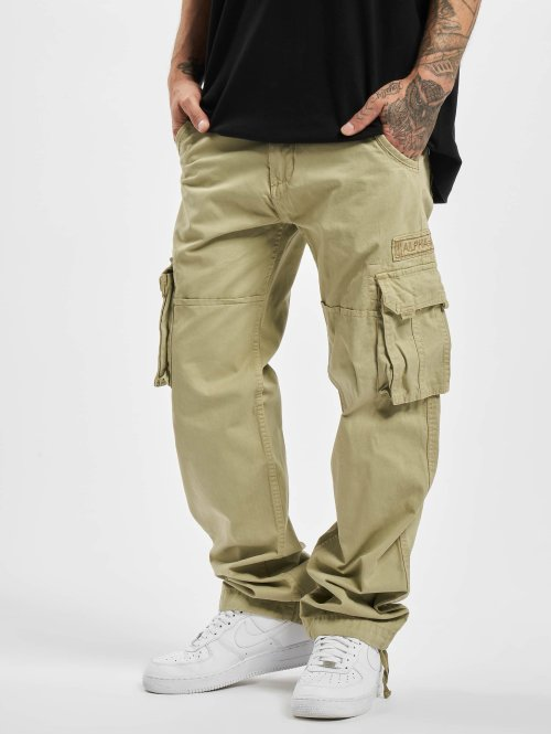 Alpha Industries Cargobroek Jet beige