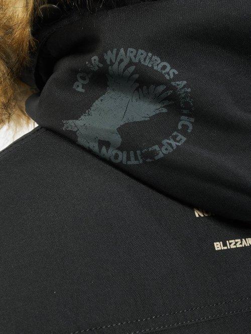 Alpha Industries Winterjacke Polar schwarz