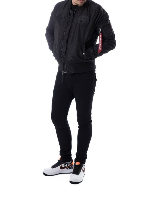 Alpha Industries Winterjacke MA-1 TT schwarz