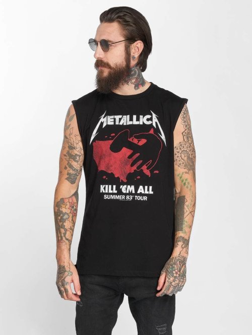 Amplified t-shirt Metallica Kill Em All 83 Tour zwart