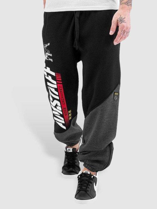 Amstaff joggingbroek Rider zwart