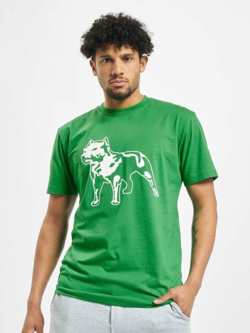 Amstaff T-paidat Logo vihreä