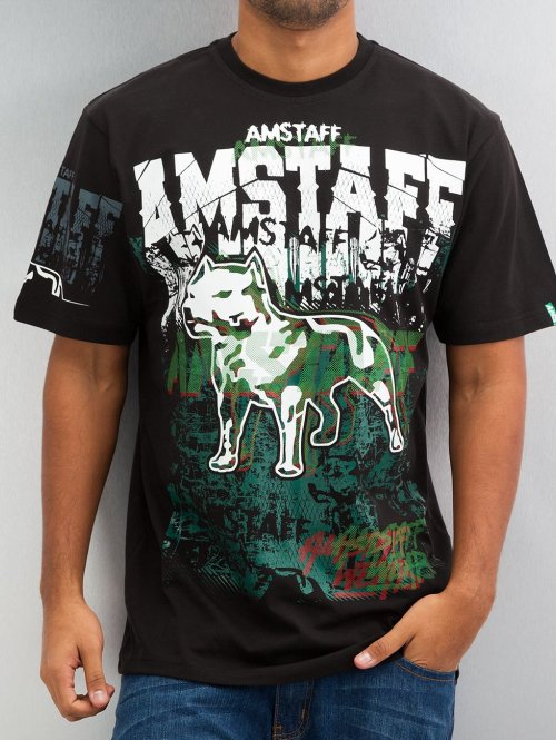 Amstaff T-Shirt Psyc schwarz
