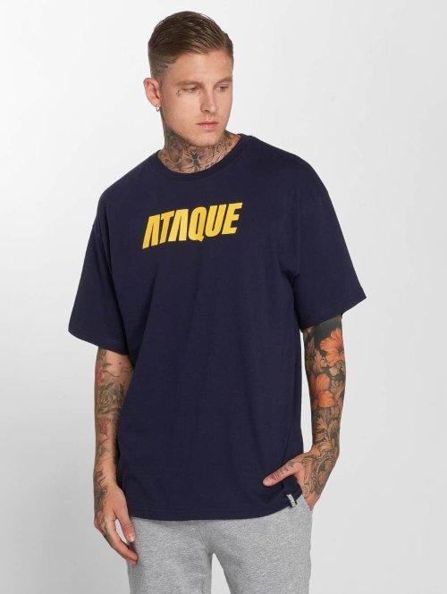 Ataque t-shirt Leon blauw
